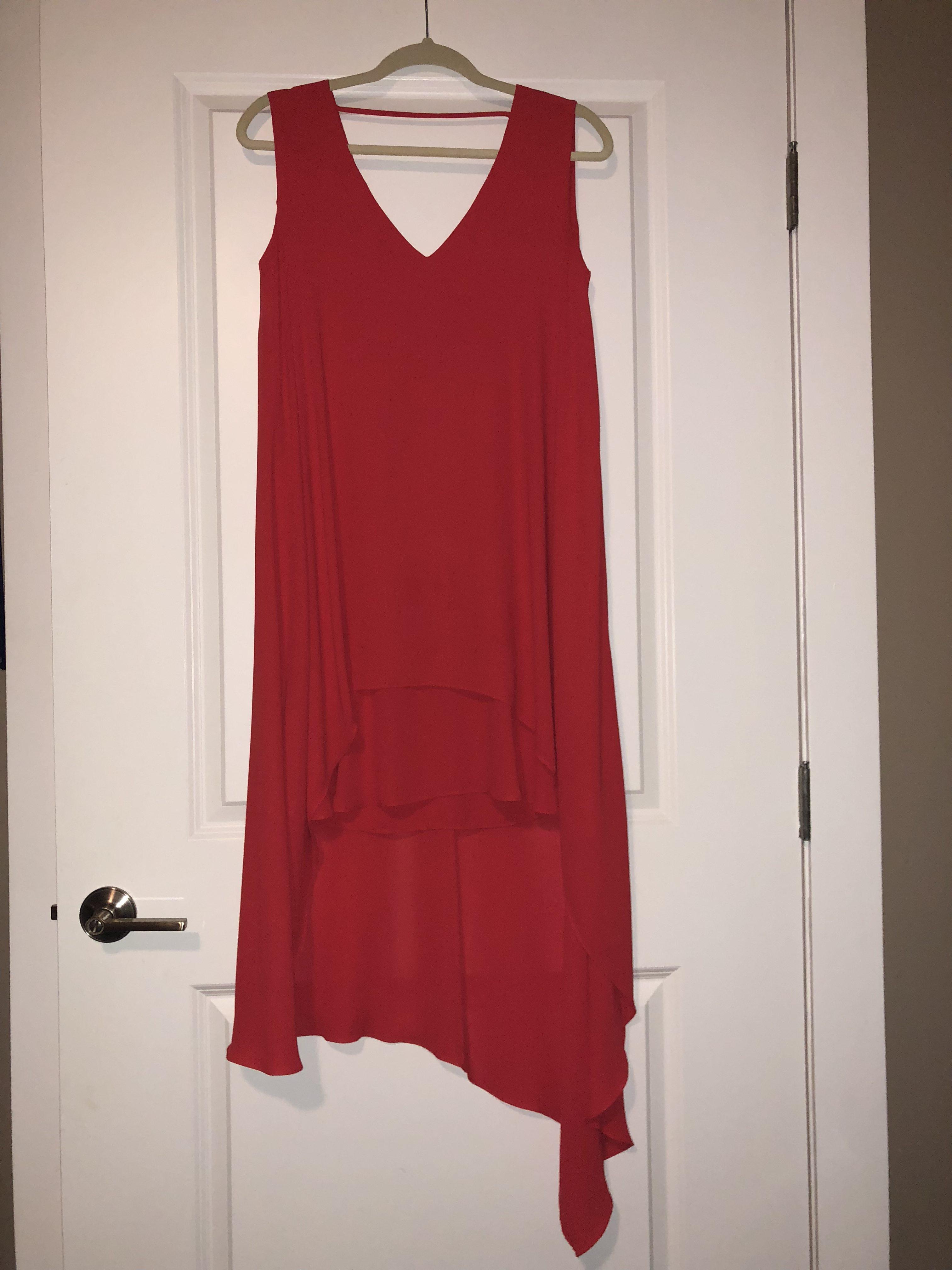 e6c9ab5c2cd BCBGMAXAZRIA Kaira Asymmetrical Layered Dress – DesignerShare