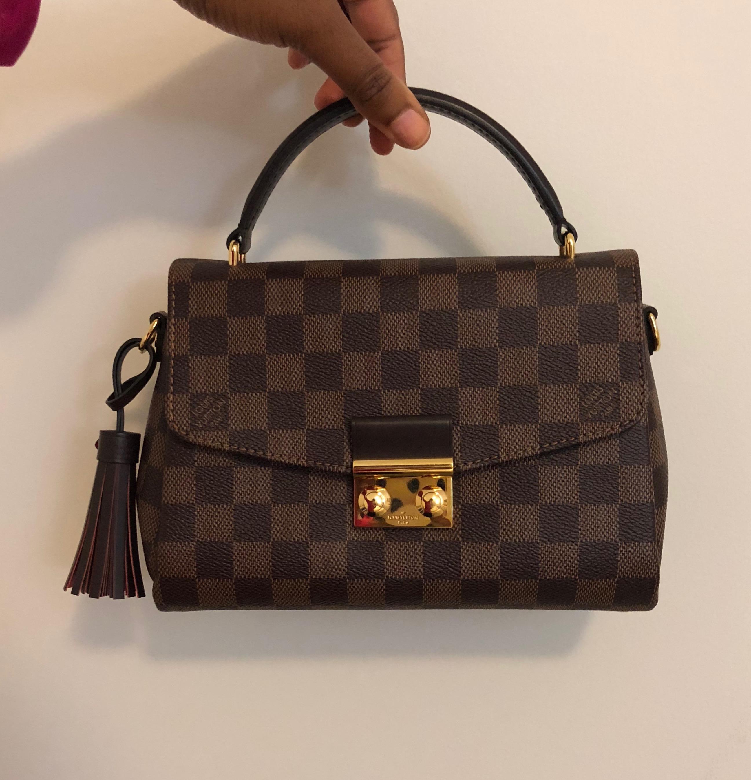 291c845adc070 Louis Vuitton Damier Ebene Croisette – DesignerShare