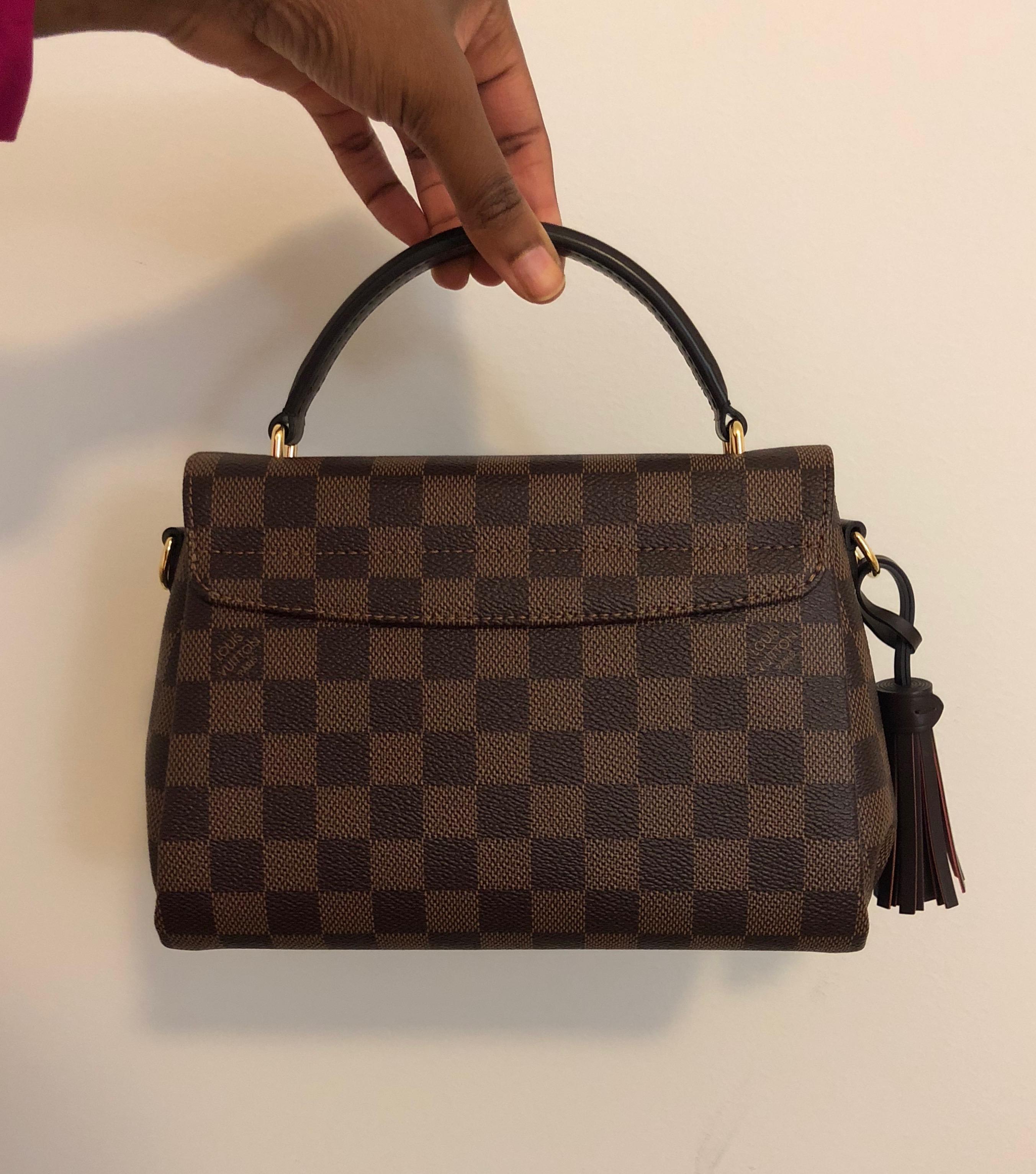 e0c145856976 Louis Vuitton Damier Ebene Croisette – DesignerShare