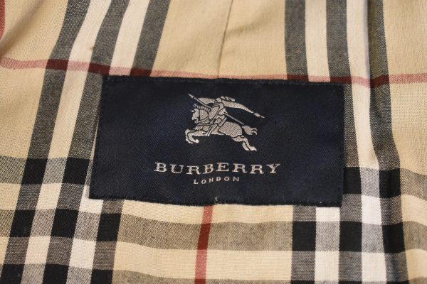 Burberry London Single-Breasted Trench_Label
