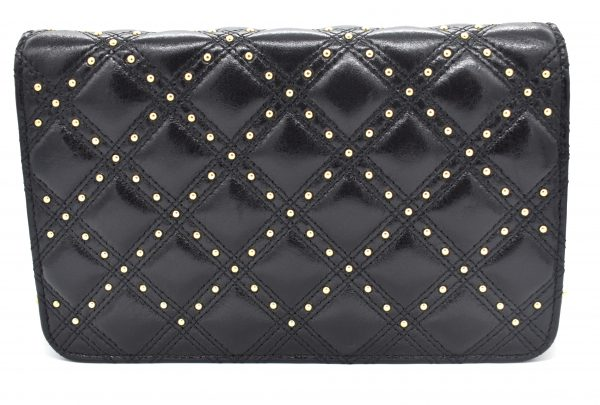 Chanel Gold Stud Wallet On Chain_Back