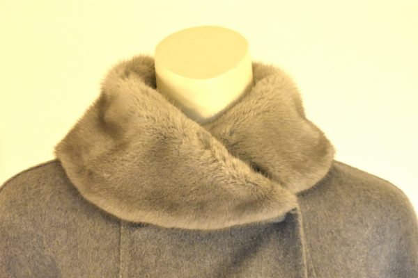 MaxMara Atelier Fur-Trimmed Coat_Detail