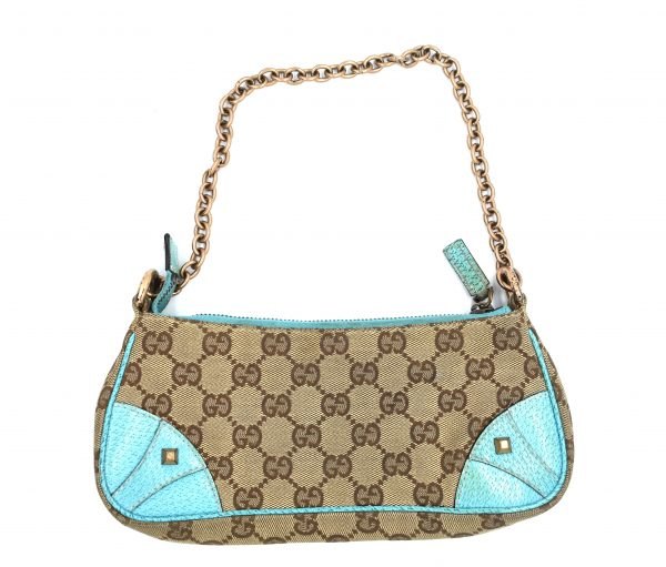 Gucci GG Monogram Canvas Pochette