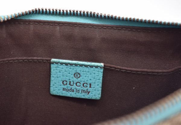 Gucci GG Monogram Canvas Pochette_InteriorDetail