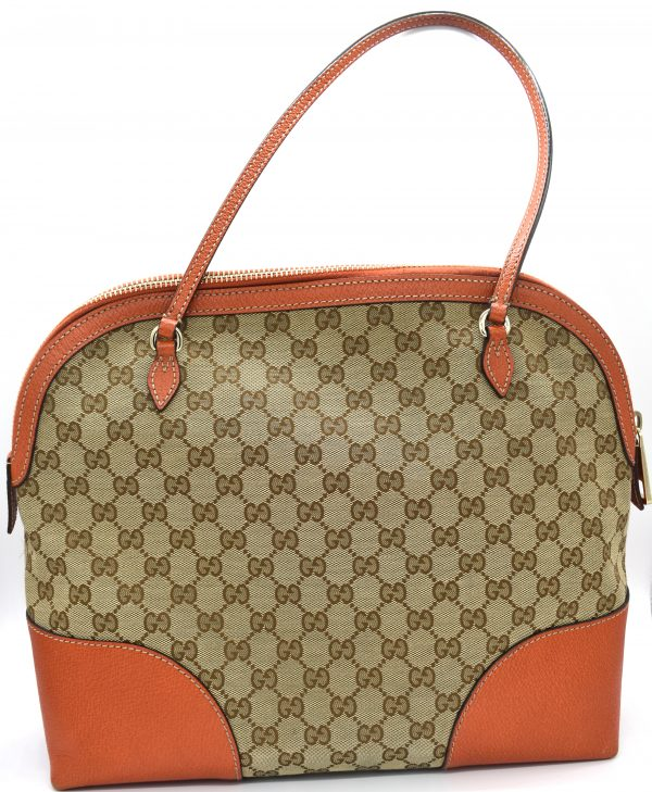 Gucci GG Monogram Structured Tote Bag