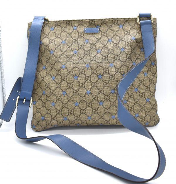 Gucci GG Stars Monogram Messenger Bag