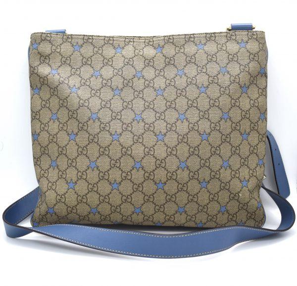 Gucci GG Stars Monogram Messenger Bag_Back