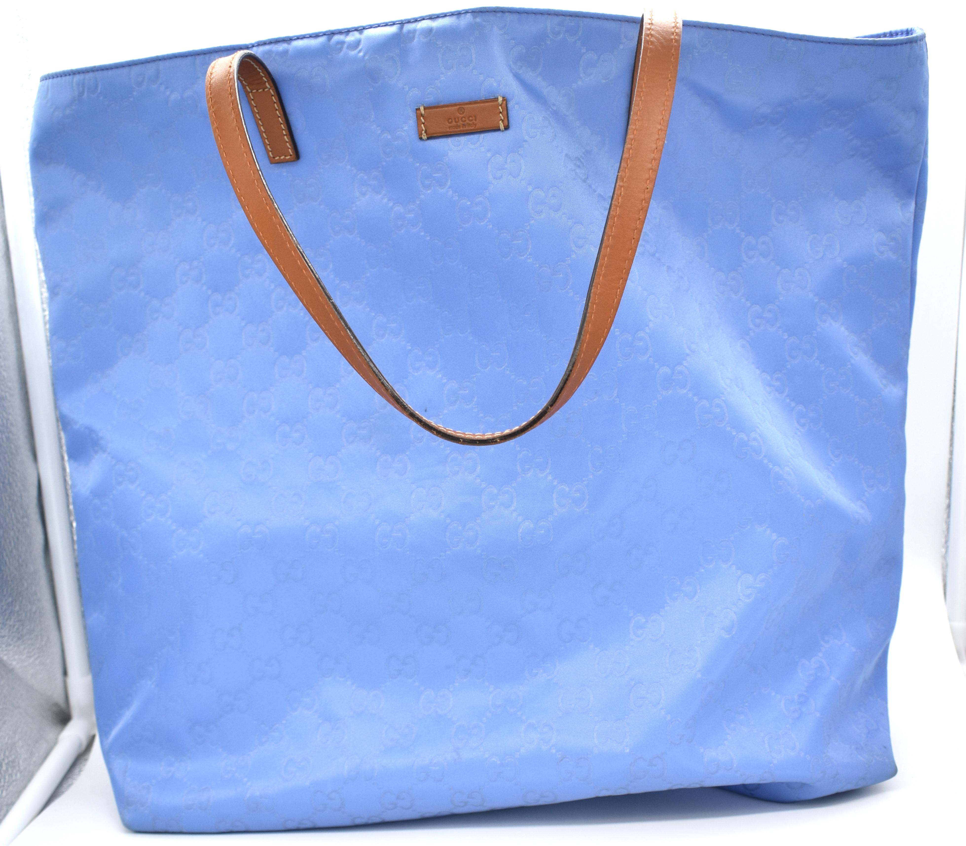 70cabdda5b Gucci Nylon Guccissima Tote Bag – DesignerShare