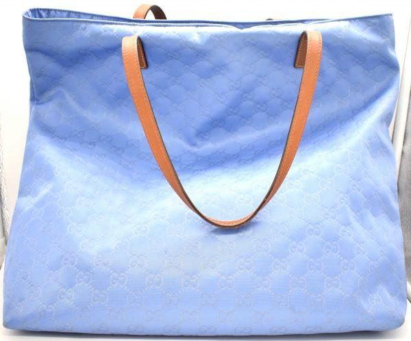 Gucci Nylon Guccissima Tote Bag_Back