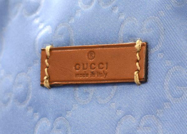Gucci Nylon Guccissima Tote Bag_Detail