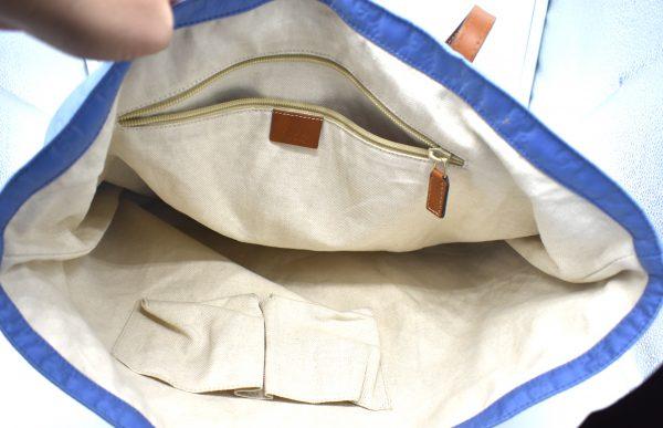 Gucci Nylon Guccissima Tote Bag_Interior