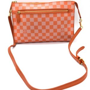 Louis Vuitton Damier Couleur Piment Modul 228733 Orange Coated Canvas Cross Body Bag