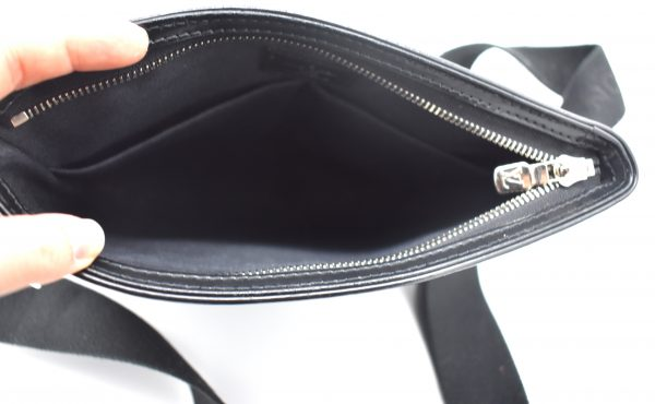 Louis Vuitton Damier Graphite Thomas Messenger 869338 Black Coated Canvas Cross Body Bag_Interior