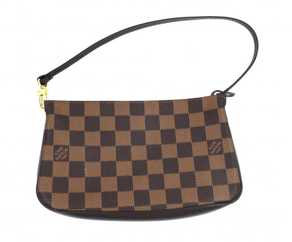 Louis Vuitton Pochette Damier Ebene Mini Brown