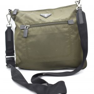Prada Bandoliera Tessuto Nylon Cross Body Bag