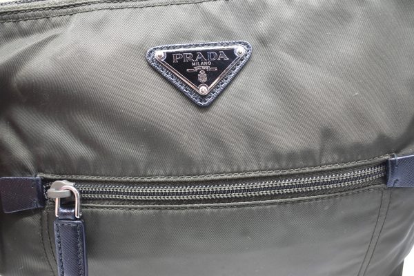 Prada Bandoliera Tessuto Nylon Cross Body Bag_Detail