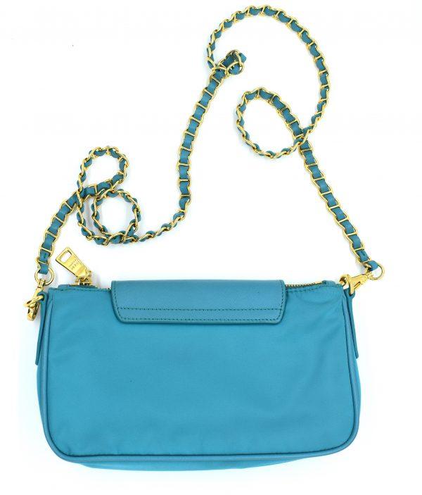 Prada Nylon Mini Shoulder Bag_Back