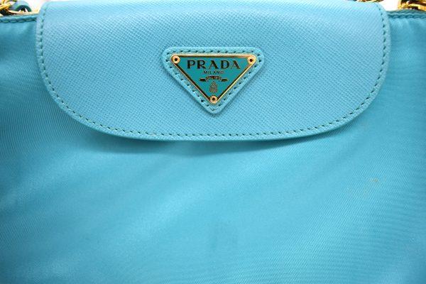Prada Nylon Mini Shoulder Bag_Detail