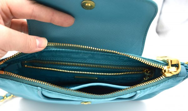 Prada Nylon Mini Shoulder Bag_Interior