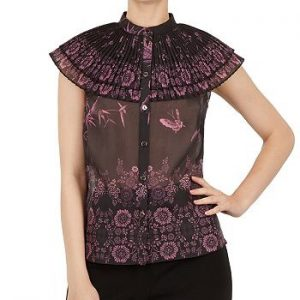 "Ted Baker ""Briela"" High-Neck Top"