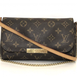 f30ff34aba27 Louis Vuitton Monogram Favorite PM Shoulder Bag