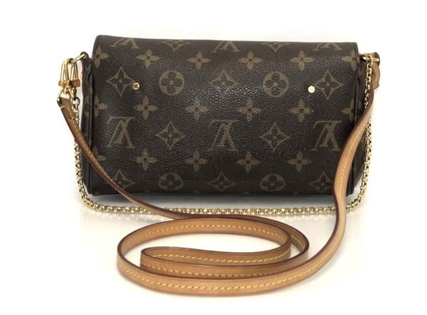 Louis Vuitton Monogram Favorite PM Shoulder Bag_Back